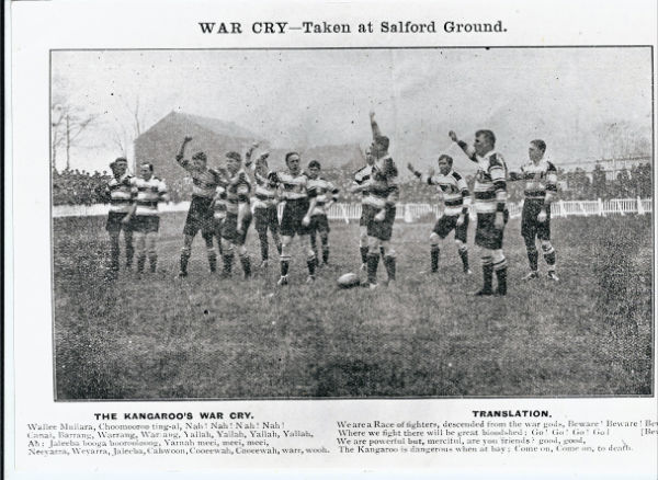 War Cry taken at Salford Ground